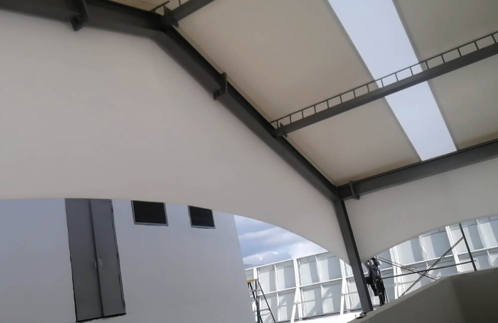 Cerramiento Textil UTP Huancayo