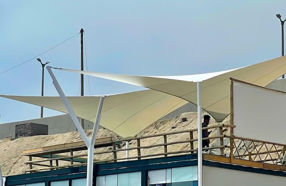 Tensoestructura Surfari Puntarocas